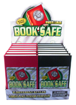 display for diversion book safes